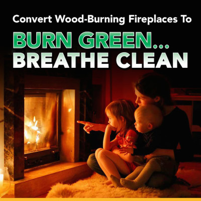 Burn Green.. Breathe Clean